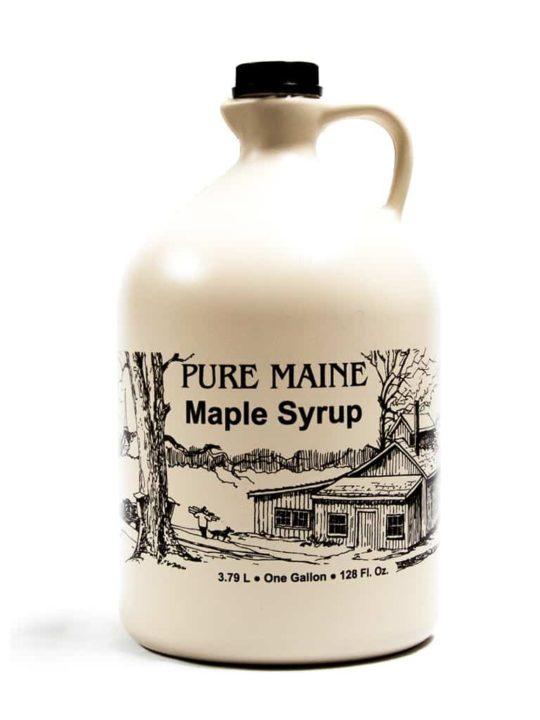 one gallon maple syru[