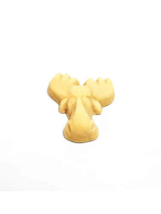 moose shaped maple candy