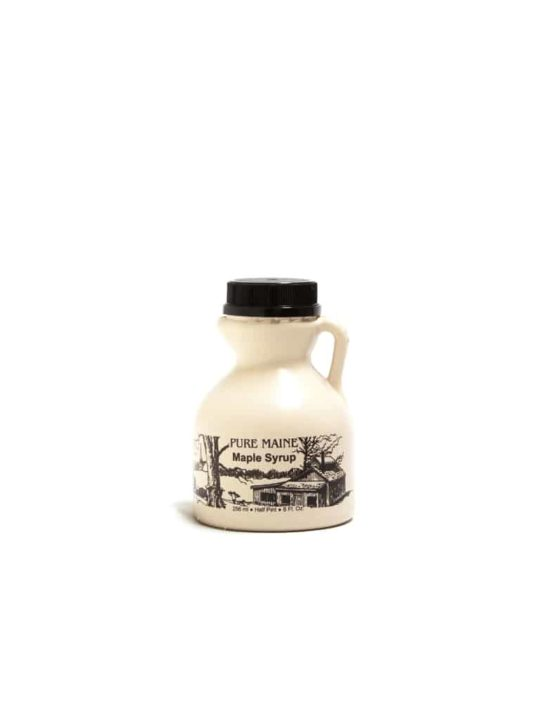 pure maine maple syrup half pint