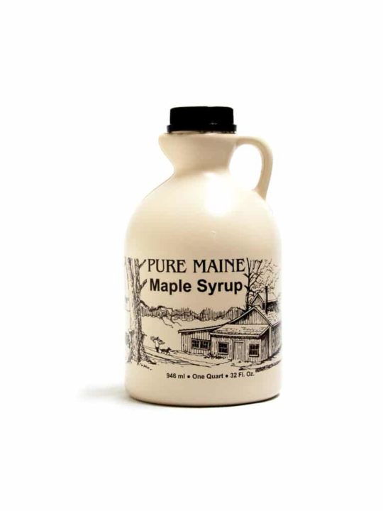 pure maine maple syrup quart