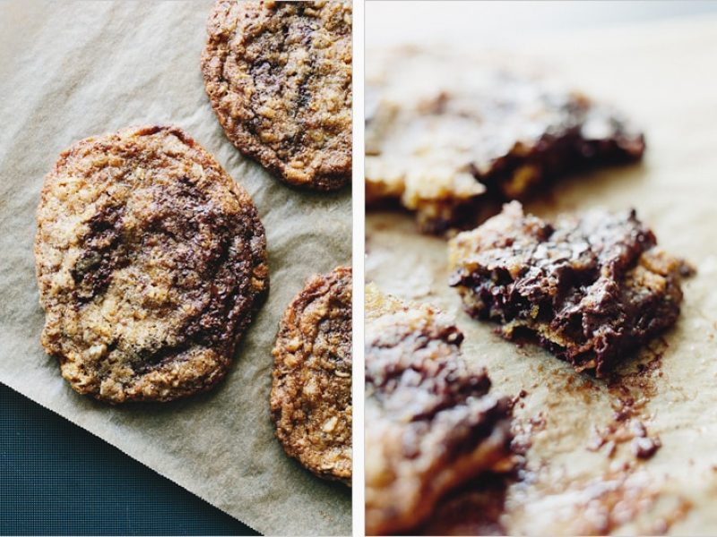 Maple'd Chocolate Chip Cookies