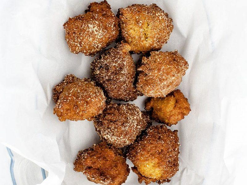 Gluten-Free Maple Pumpkin Fritters